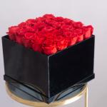 Black box flowers