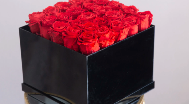 What Is The Black Box Flowers Arrangement?